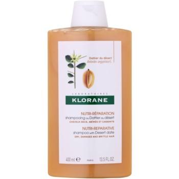 Fotografie Klorane Dattier šampon pro lámavé a namáhané vlasy 400 ml