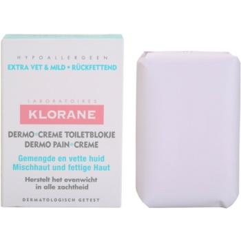 Klorane Dermo Pain Creme sapun pentru piele mixta spre grasa