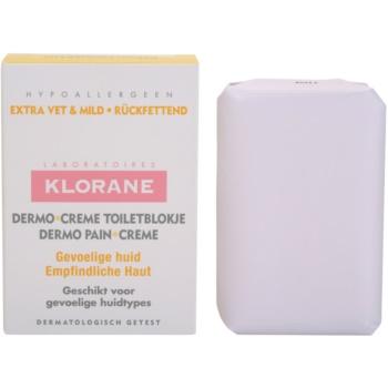 Klorane Dermo Pain Creme мило для ніжної і гладенької шкіри