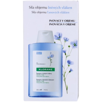 Klorane Flax Fiber шампунь для тонкого та ослабленого волосся 3