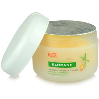 Klorane Mangue поживна маска для сухого або пошкодженого волосся 3