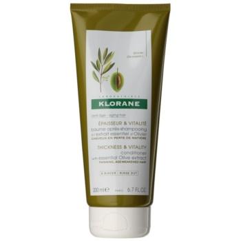 Klorane Olive Extract balsam pentru indreptare pentru par matur