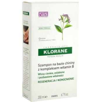 Klorane Quinine sampon fortifiant pentru par deteriorat 2