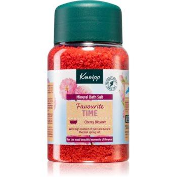 Kneipp Favourite Time Cherry Blossom saruri de baie cu minerale imagine produs