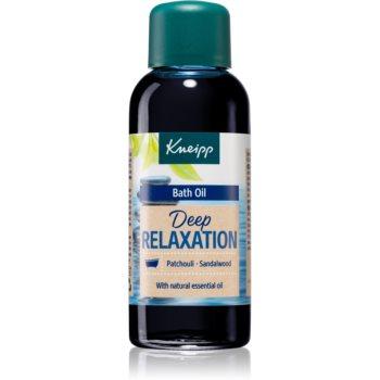 Kneipp Deep Relaxation Patchouli & Sandalwood ulei pentru baie imagine produs