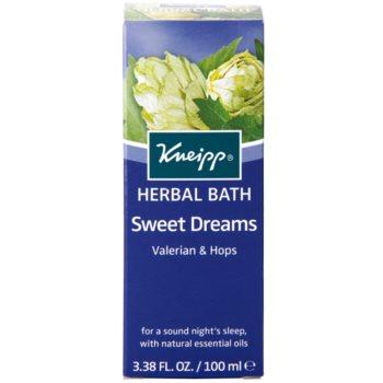 Kneipp Bath olej do koupele pro klidný spánek 2