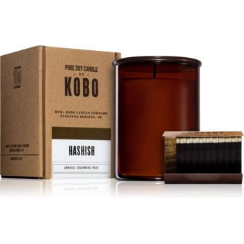 KOBO Woodblock Hashish lumânare parfumată