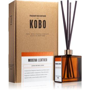 KOBO Woodblock Modena Leather aroma difuzor cu rezervã