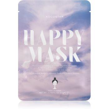 KOCOSTAR Happy Mask mascã textilã de îngrijire cu efect de hidratare imagine produs