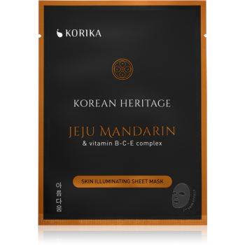KORIKA Korean Heritage mască textilă iluminatoare imagine