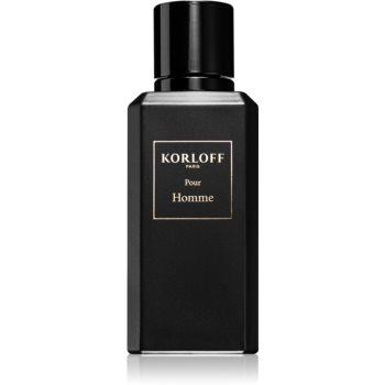 Korloff Pour Homme Eau de Parfum pentru bărbați