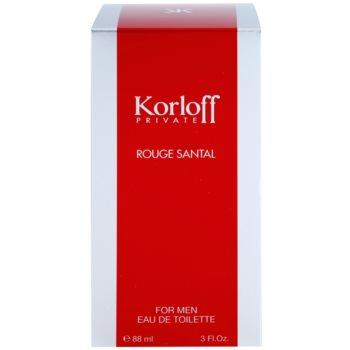 Korloff Korloff Private Rouge Santal тоалетна вода унисекс 1