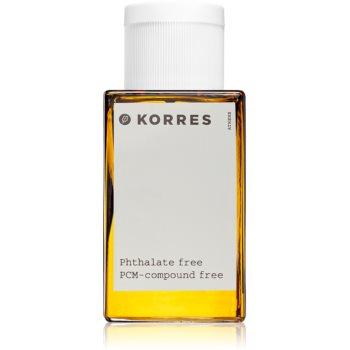 Korres Mountain Pepper, Bergamot & Coriander Eau de Toilette pentru bărbați
