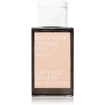 Korres Black Sugar Oriental Lilly Eau de Toilette pentru femei