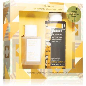Korres White Tea, Bergamot & Freesia set cadou V. (pentru femei) poza