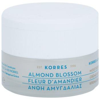 Korres Face Almond Blossom crema hidratanta pentru ten normal spre uscat