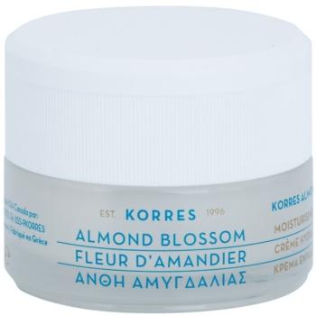 Fotografie Korres Face Almond Blossom hydratační krém pro smíšenou a mastnou pleť 40 ml
