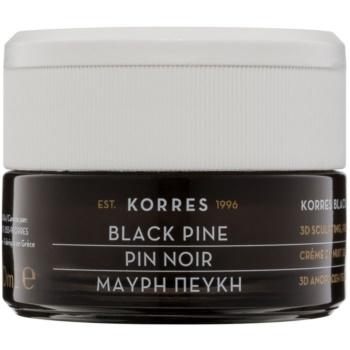 Fotografie Korres Face Black Pine zpevňující noční krém s liftingovým efektem 40 ml