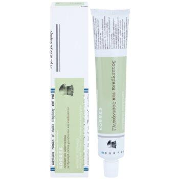 Korres Dental Care Anisum and Eucalyptus dentífrico branqueador 1