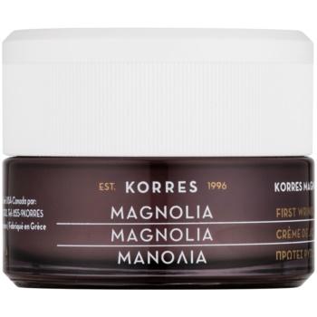 Korres Magnolia crema de zi pentru aparitia primelor riduri pentru toate tipurile de ten