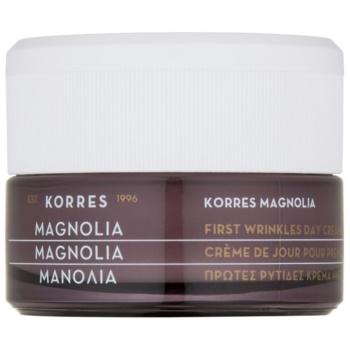 Korres Magnolia crema de zi pentru aparitia primelor riduri SPF 15