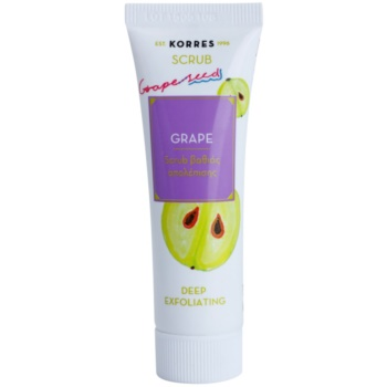 Korres Mask&Scrub Grape peeling curatare profunda