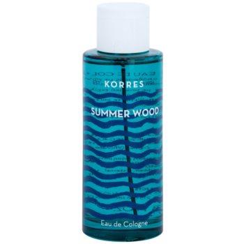 Korres Summer Wood Eau de Cologne unisex