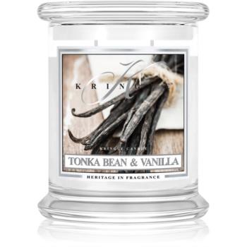 Kringle Candle Tonka Bean & Vanilla lumanari parfumate 411 g