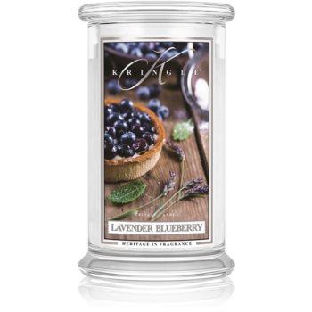 Kringle Candle Lavender Blueberry lumânare parfumată
