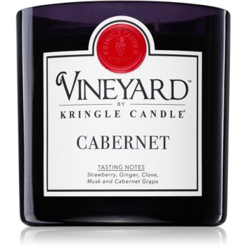 Kringle Candle Vineyard Cabernet lumânare parfumată