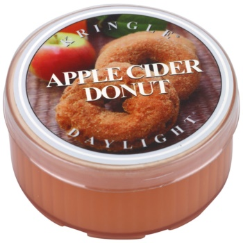 Kringle Candle Apple Cider Donut Gold & Cashmere Tealight Candle