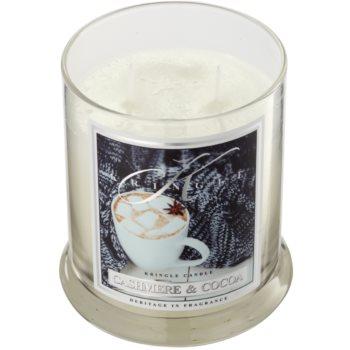Kringle Candle Cashmere & Cocoa ароматна свещ 1