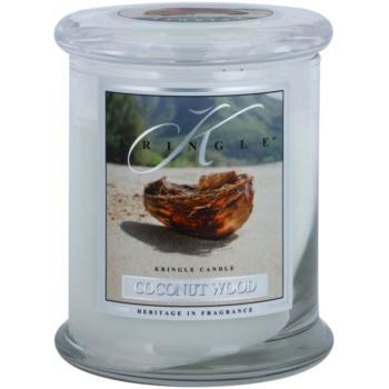 Kringle Candle Coconut Wood dišeča sveča   srednja