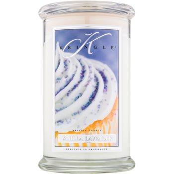 Kringle Candle Vanilla Lavender lumanari parfumate 624 g