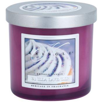 Kringle Candle Vanilla Lavender dišeča sveča