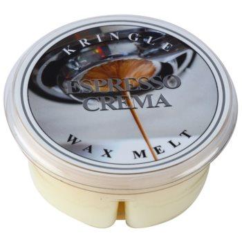 Kringle Candle Espresso Crema vosek za aroma lučko