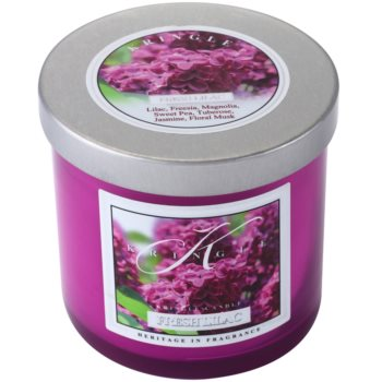 Kringle Candle Fresh Lilac vela perfumado  pequeno