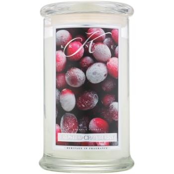 Kringle Candle Frosted Cranberry lumanari parfumate 624 g
