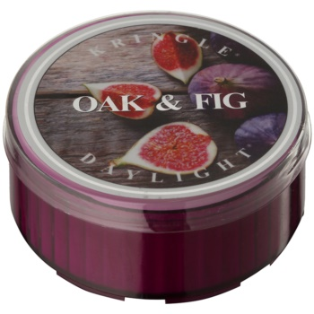 Kringle Candle Oak & Fig čajová svíčka