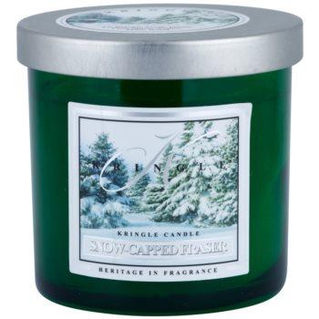 Kringle Candle Snow Capped Fraser illatos gyertya   kicsi