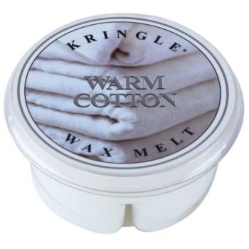Kringle Candle Warm Cotton vosek za aroma lučko