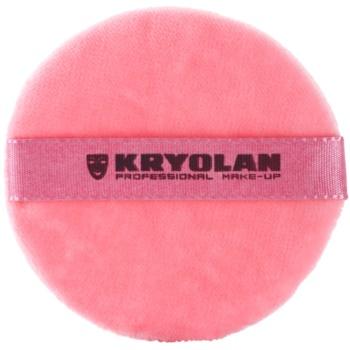 Kryolan Basic Accessories велурен тампон за пудра малка 2