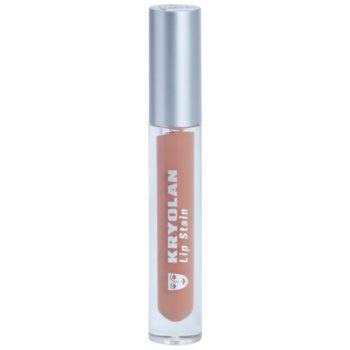 Kryolan Basic Lips tekutá rtěnka pro dlouhotrvající efekt odstín Latin 4 ml