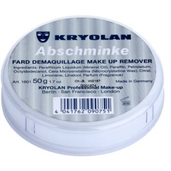 Kryolan Basic Removal вазелин за отстраняване на устойчив грим малка опаковка
