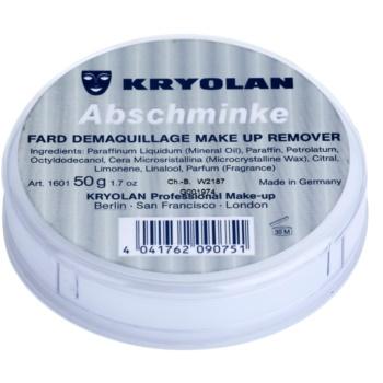 Kryolan Basic Removal demachiant vaselina asupra machiajului durabil pachet mic