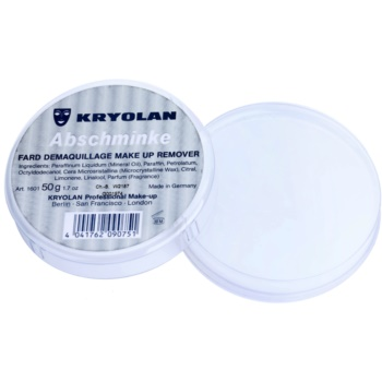 Kryolan Basic Removal вазелин за отстраняване на устойчив грим малка опаковка 1