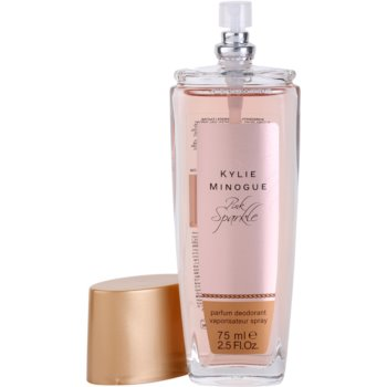Kylie Minogue Pink Sparkle desodorizante vaporizador para mulheres 1