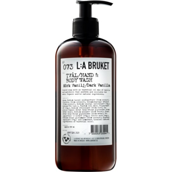 L:A Bruket Body tekuté mýdlo s vanilkou 450 ml