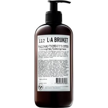 L:A Bruket Hair kondicionér pro normální až mastné vlasy Lemongrass 450 ml