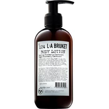 L:A Bruket Body tělové mléko se šalvějí rozmarýnem a levandulí 250 ml